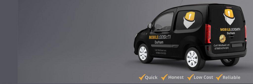 Mobile Locksmith Durham Van